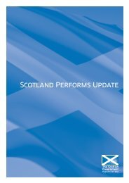Scotland Performs Update