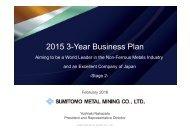 2015 3-Year Business Plan