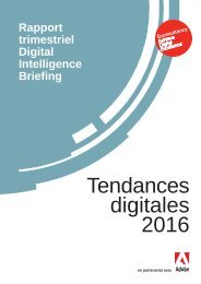 Tendances digitales 2016