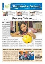 Ausgabe August 2012 - Stadtwerke Finsterwalde