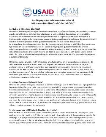 Las 20 preguntas más frecuentes sobre el Método - About SDM ...