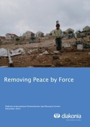 Removing Peace by Force