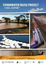 STORMWATER REUSE PROJECT