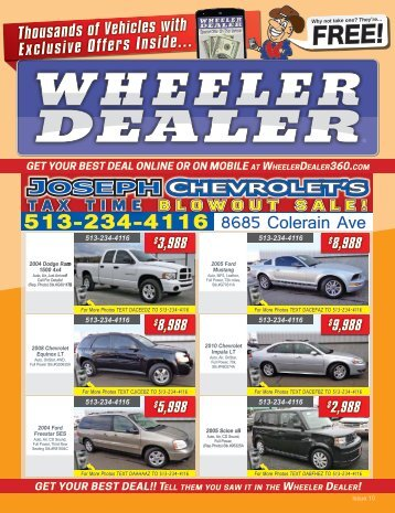 Wheeler Dealer Issue 10, 2016