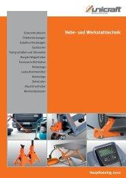 Hauptkatalog 2012 Hebe- und Werkstatttechnik - Stürmer