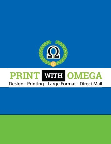 PRINT WITH OMEGA BOOKLET DESIGN