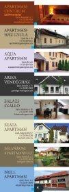 Visit Gyula Card Magazin 2016 Szálláshelyek - Page 4