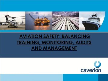 AVIATION SAFETY BALANCING TRAINING MONITORING AUDITS AND MANAGEMENT