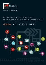 GSMA INDUSTRY Paper