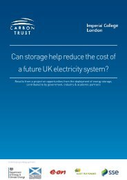 Can storage help reduce the cost of a future UK electricity system?