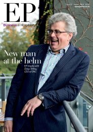 EP Business in Hospitality Issue 52 - January 2015