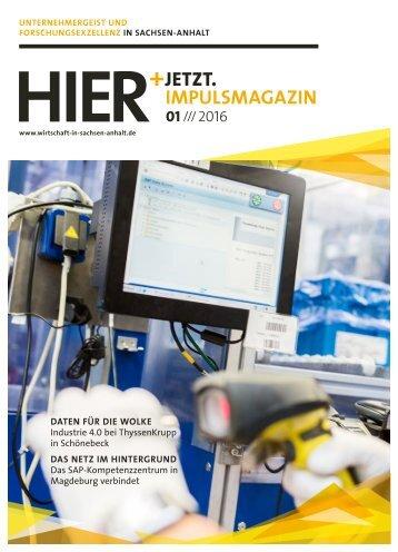 HIER+JETZT. Impulsmagazin // Ausgabe 01/2016