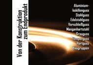 Firmenbroschüre als Download - Metallgießerei Ralf Mewes GmbH