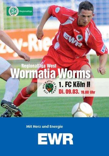 09.03.2010 1.FC Köln II - Wormatia Worms