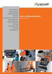 Hebe- und Werkstatttechnik - HK Maschinentechnik