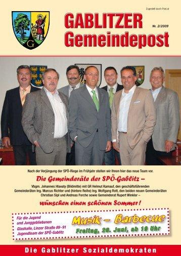 Ivankovits & Niessler OEG A-3003 Gablitz ... - SPÖ Gablitz