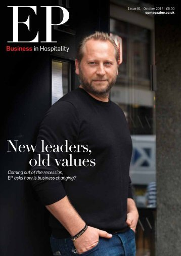 EP Business in Hospitality Issue 51 - October 2014