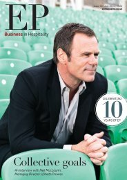 EP Business in Hospitality Issue 50 - July 2014