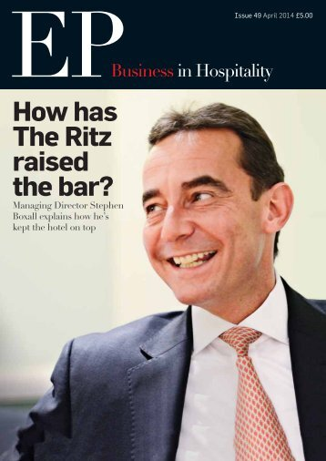 EP Business in Hospitality Issue 49 - April 2014