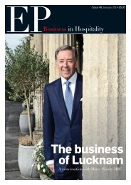 EP Business in Hospitality Issue 48 - January 2014