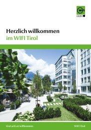 Herzlich Willkommen im WIFI Tirol
