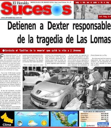 Detienen a Dexter responsable de la tragedia de Las Lomas
