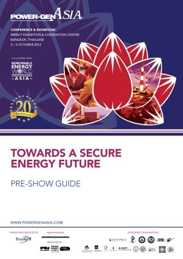 Download Pre-Show Guide (pdf) - POWER-GEN Asia