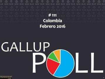 # 111 Colombia Febrero 2016
