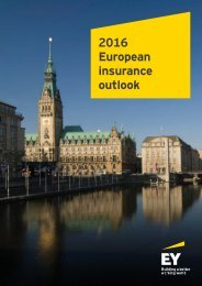 2016 European insurance outlook
