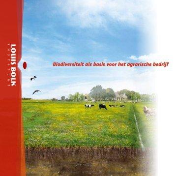 Biodiversiteit als basis voor het agrarische bedrijf