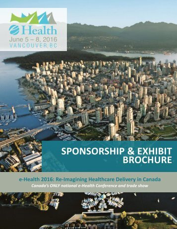SPONSORSHIP & EXHIBIT BROCHURE
