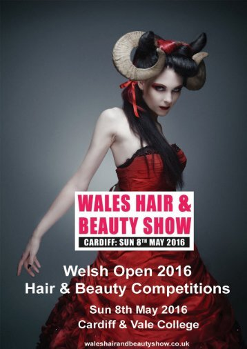 Welsh Open 2016 Hair & Beauty Competition Pack Version 1 Page 1