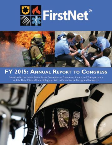 FY 2015 Annual Report Congress