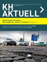 Ausgabe 1-2011 - Kreishandwerkerschaft Bochum