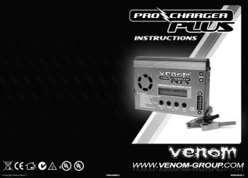 Venom Pro Charger Plus Manual - Filadelfos RC!