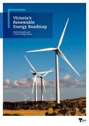 Victoria's Renewable Energy Roadmap