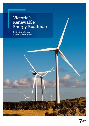 Victoria's Renewable Energy Roadmap