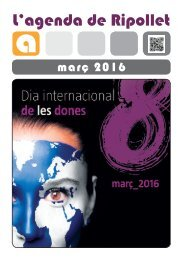 Agenda de Ripollet - Març de 2016