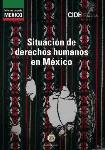 Situación de los derechos humanos en México