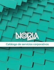 Catálogo de servicios corporativos Noria Studio