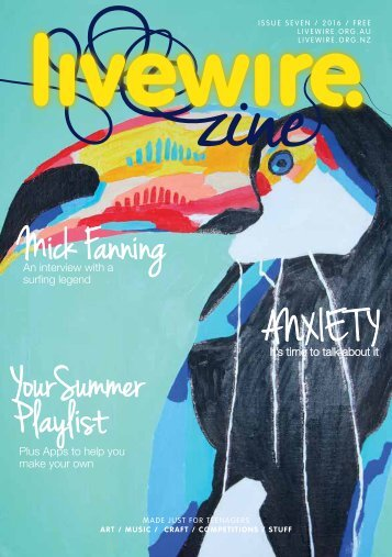Mick Fanning ANX IE T Y YourSummer P laylist