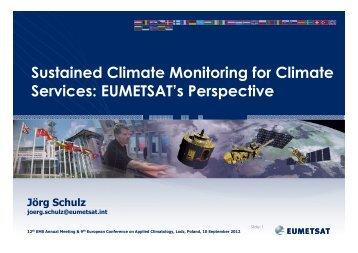 Presentation - 12th EMS Annual Meeting