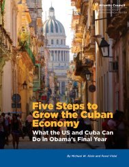 Five Steps to Grow the Cuban Economy