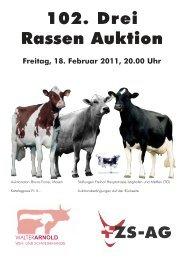 102. Drei Rassen Auktion - Walter-Arnold