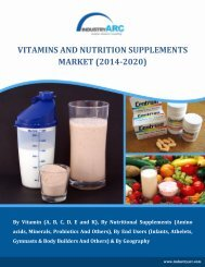 Vitamins and Nutrition Supplements
