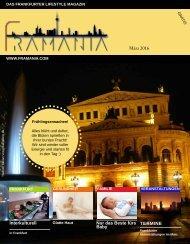 Framania Magazin Ausgabe März  2016