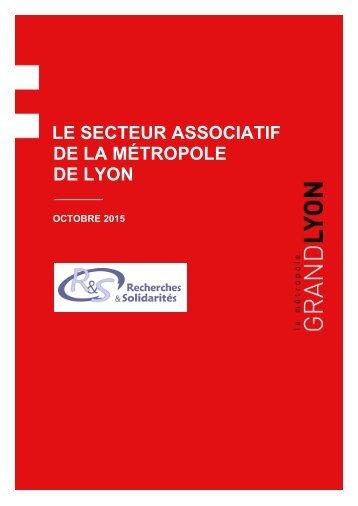 LE SECTEUR ASSOCIATIF DE LA MÉTROPOLE DE LYON
