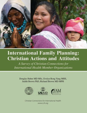 International Family Planning: Christian Actions and Attitudes