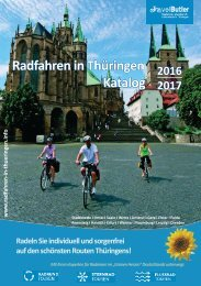 Radfahren in Thüringen Katalog 2016/2017