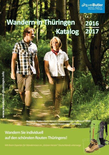 Wandern in Thüringen Katalog 2016/2017